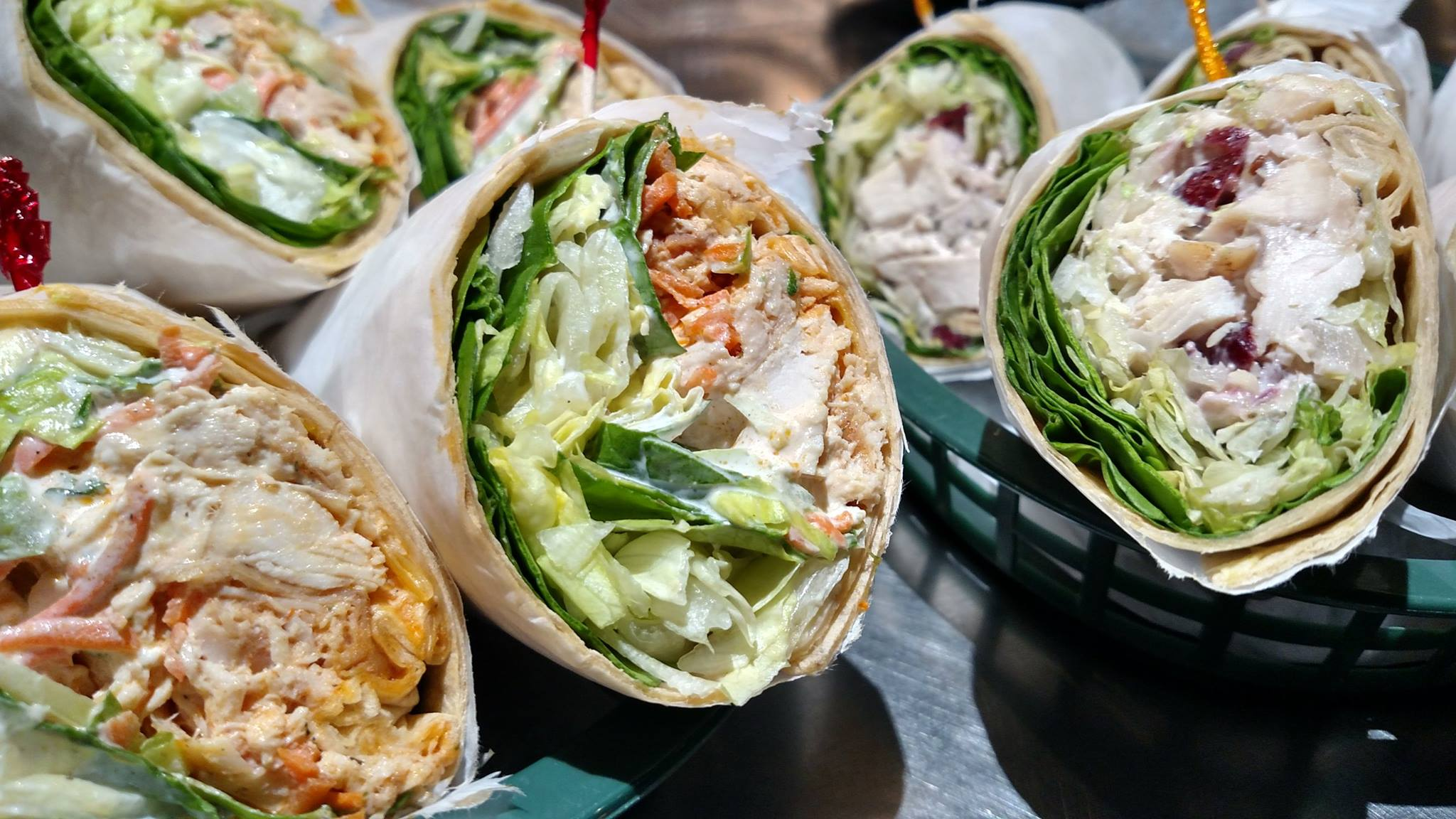 Ryke's Cafe - Specialty Wraps