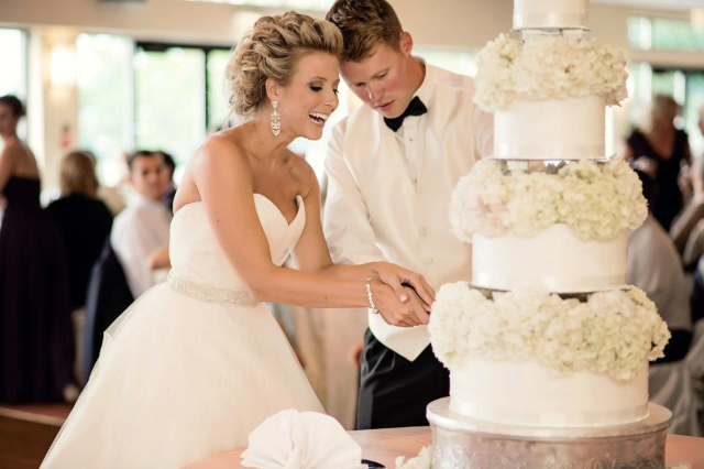 Wedding Cake by Ryke's Bakery